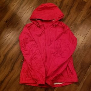 ☔️ Red REI Packable Rain Jacket Coat